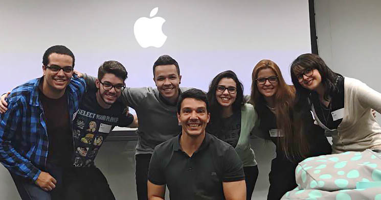 Iintegrantes do time de Apple Campus Representative